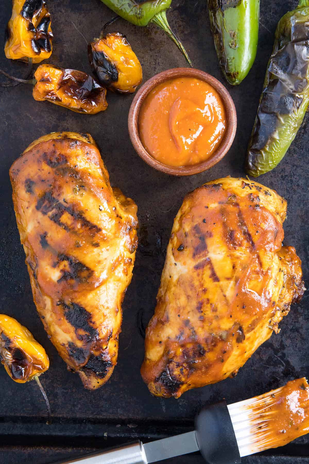 Mango-Habanero BBQ Chicken Recipe