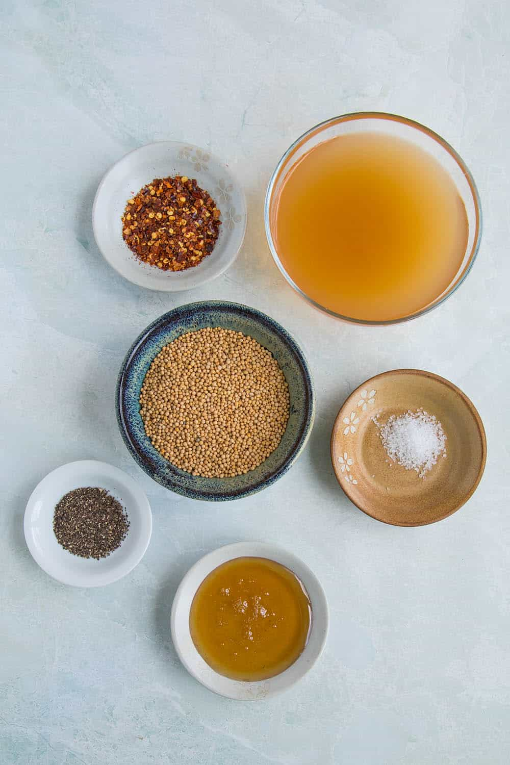 Pickled Mustard Seeds ingredients