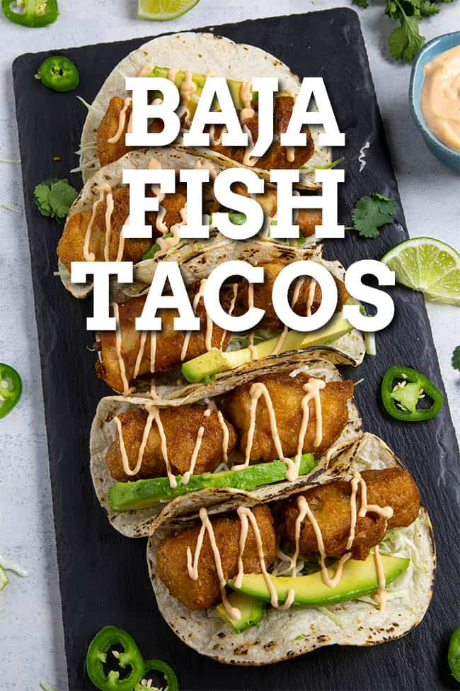 Baja Fish Tacos: Battered, Fried, Delicious