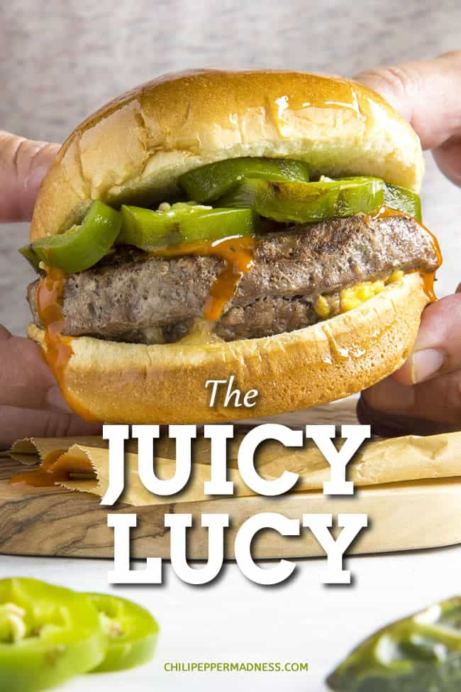 Juicy Lucy: The Gooey Stuffed Cheeseburger