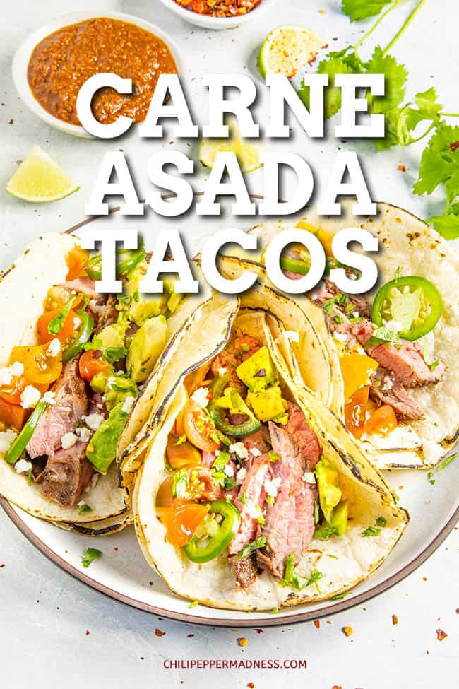Carne Asada Tacos: The Best Beef Tacos Ever