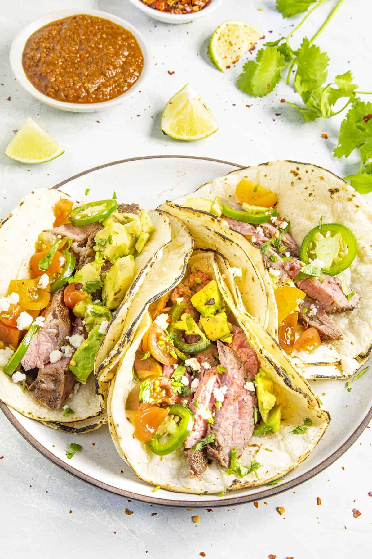 Carne Asada Tacos: The Best Beef Tacos Ever