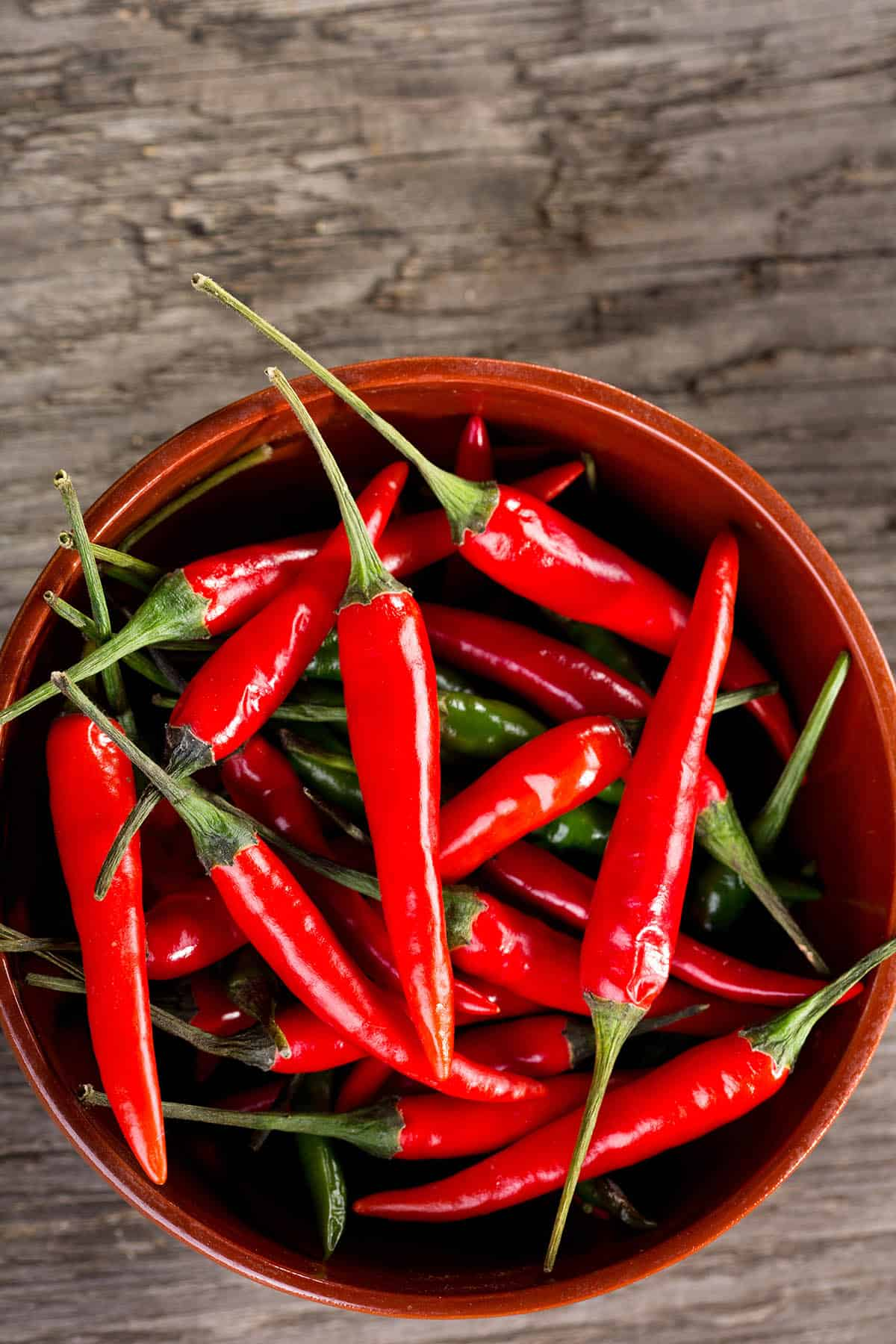 Malagueta Chili Peppers
