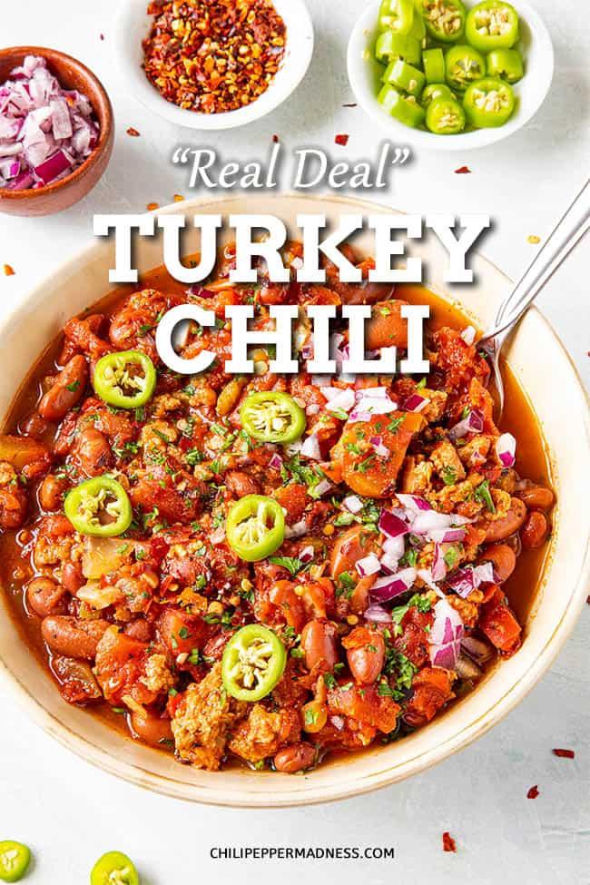Real Deal Turkey Chili Recipe