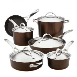 Anolon Nouvelle Copper Cookware Set