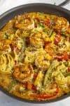 Rasta Pasta Recipe with Shrimp