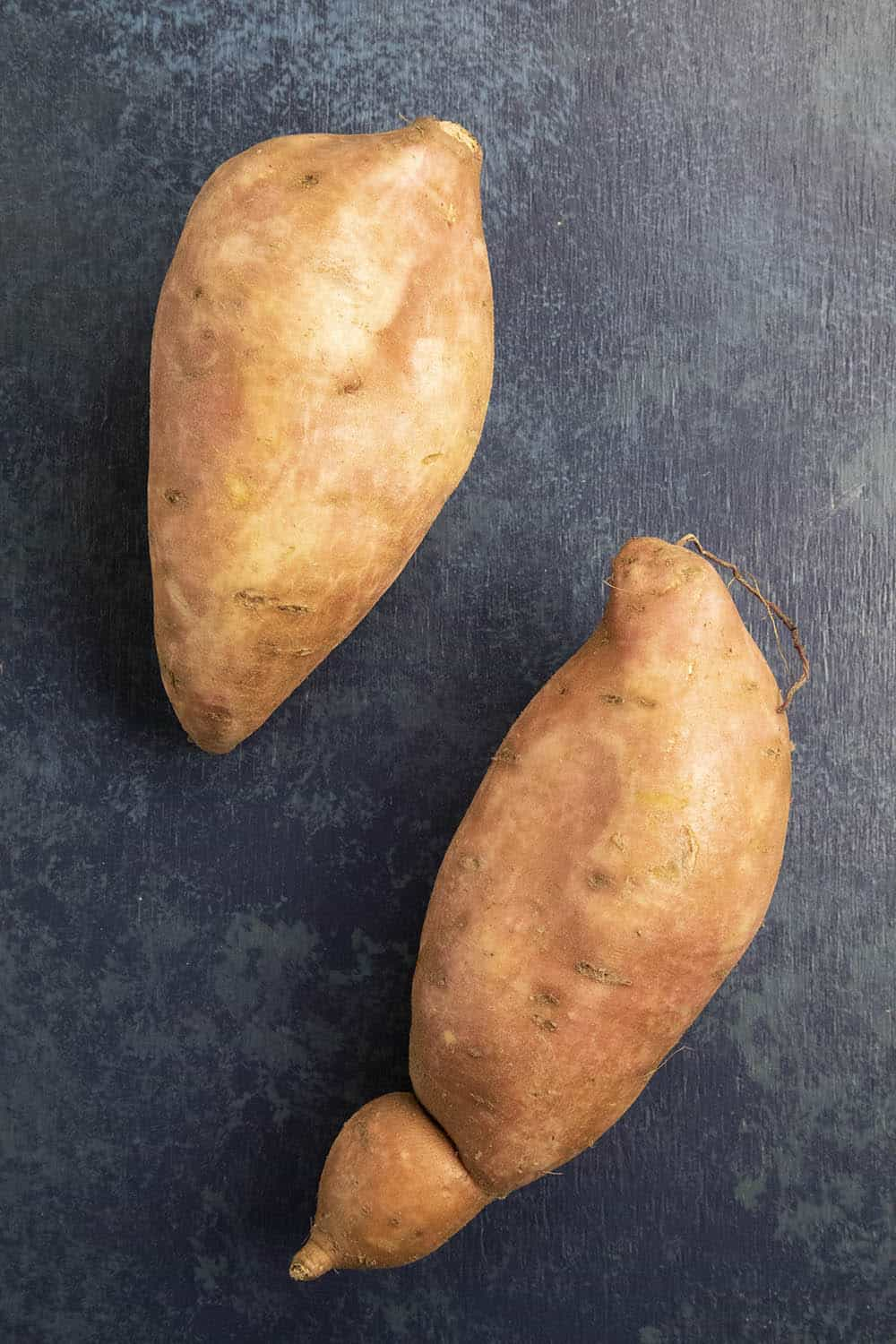 Two large Sweet Potatoes