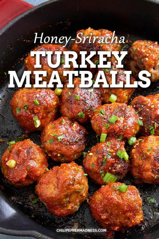 Honey-Sriracha Turkey Meatballs
