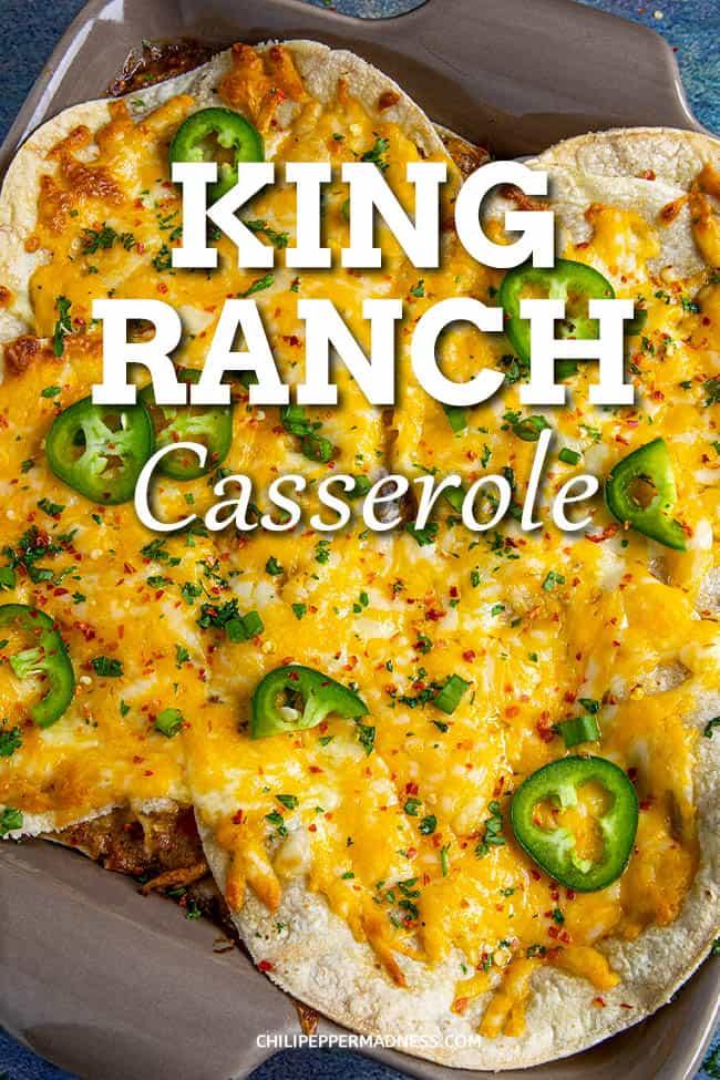 Homemade King Ranch Casserole