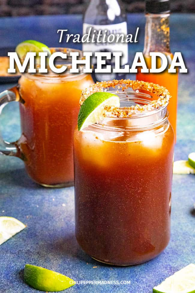 Michelada Recipe - Spicy Mexican Beer and Tomato Juice Cocktail