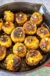 Spicy Korean Chicken Meatballs Recipe