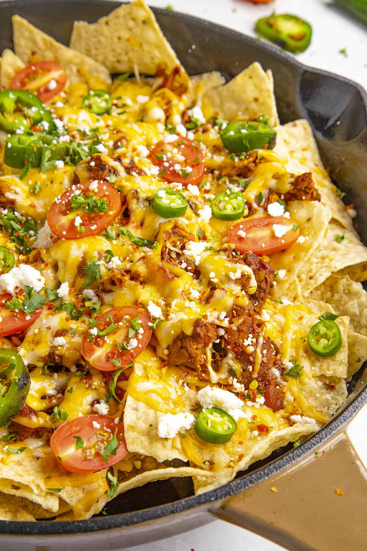Chipotle Chicken Nachos Recipe