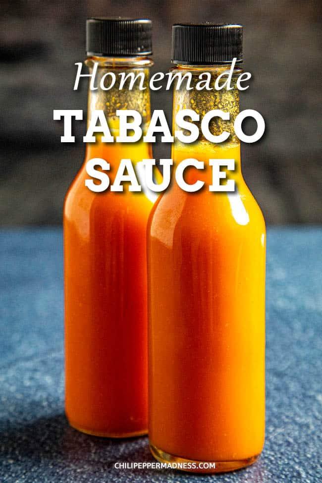 Homemade Tabasco Sauce