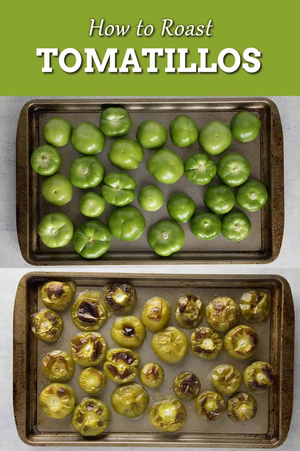How to Roast Tomatillos