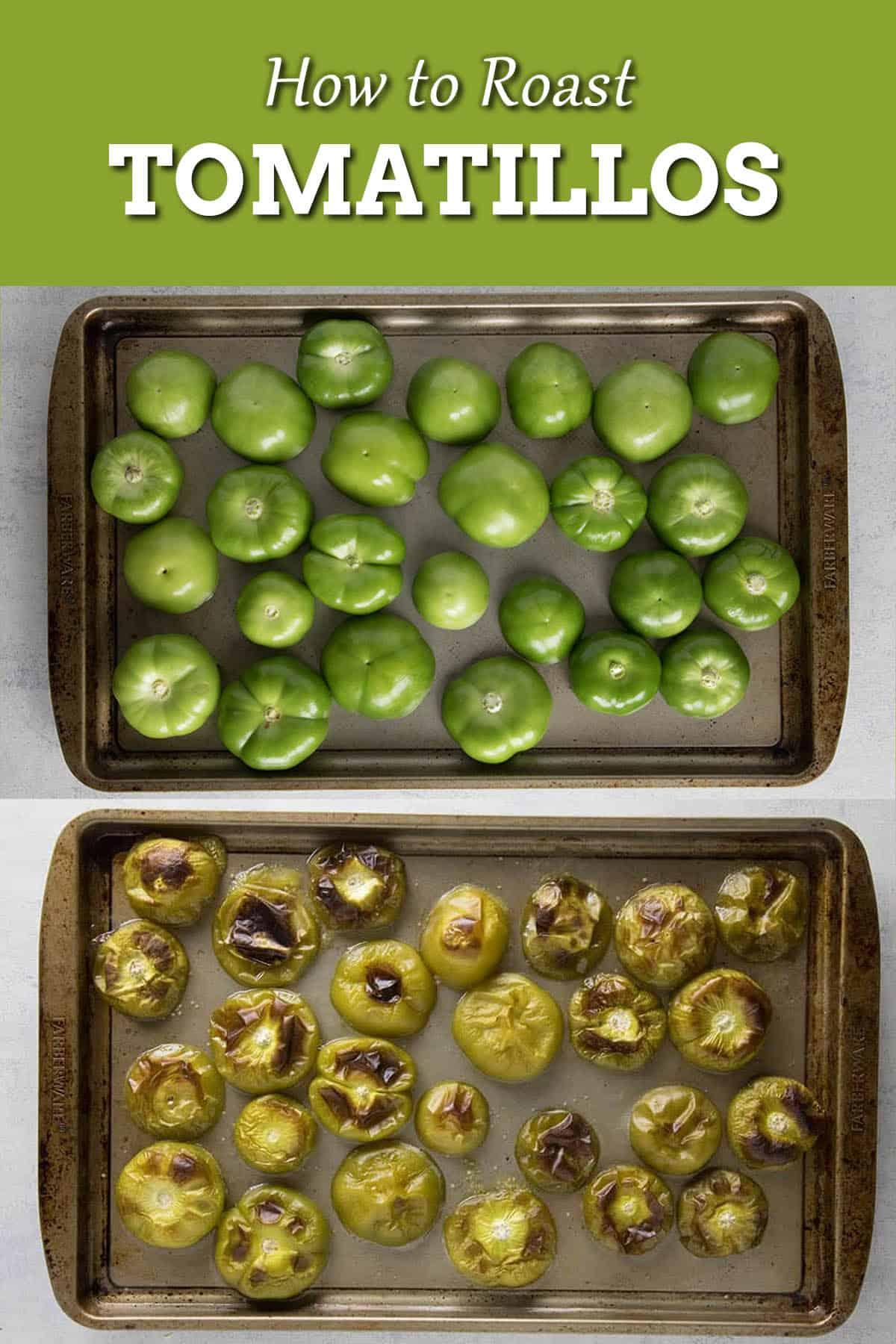 How to Roast Tomatillos