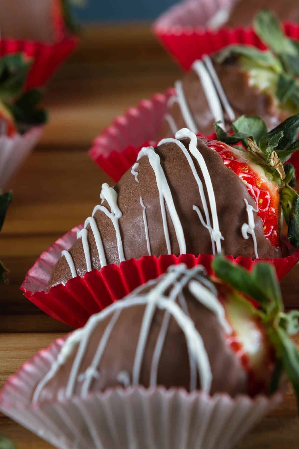 Spicy Chocolate Covered Strawberries