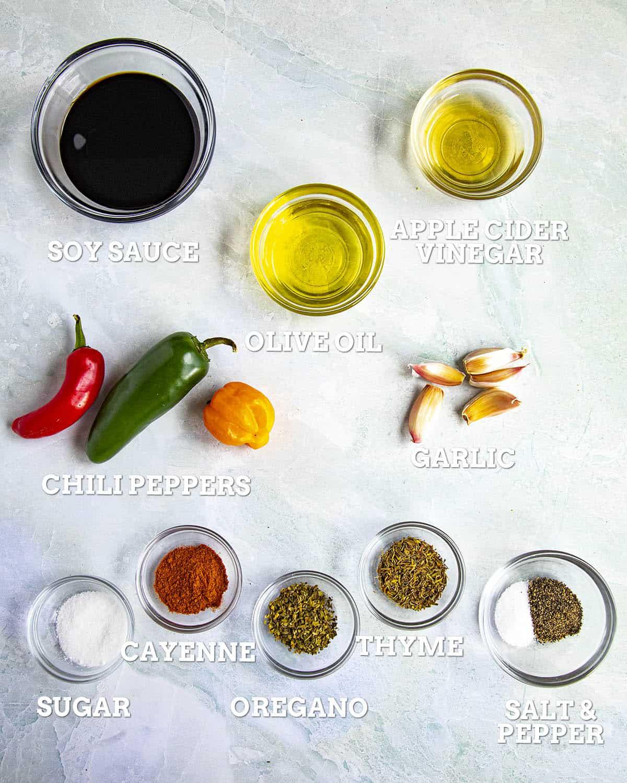 London Broil Marinade Ingredients