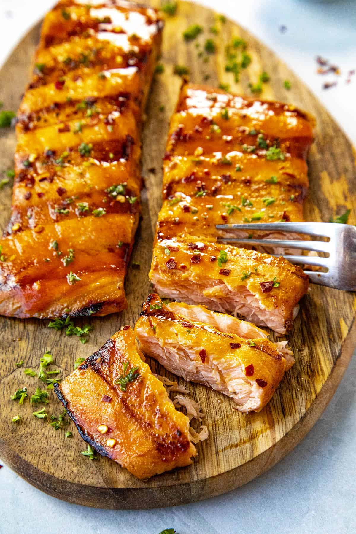 Spicy Salmon Marinade