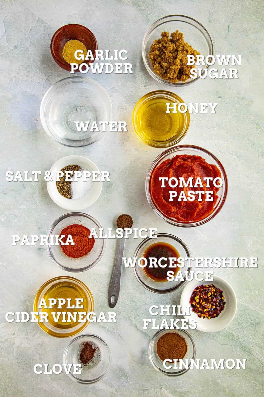 Chili Sauce Ingredients