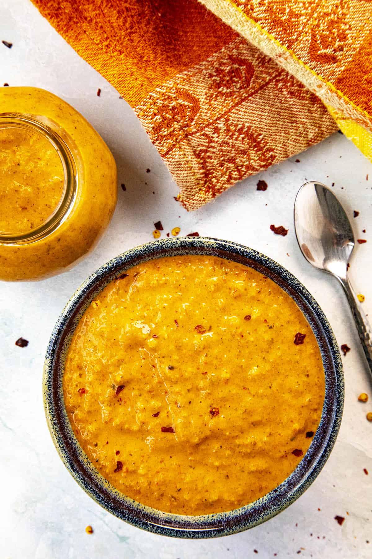 Harissa Sauce in a bowl