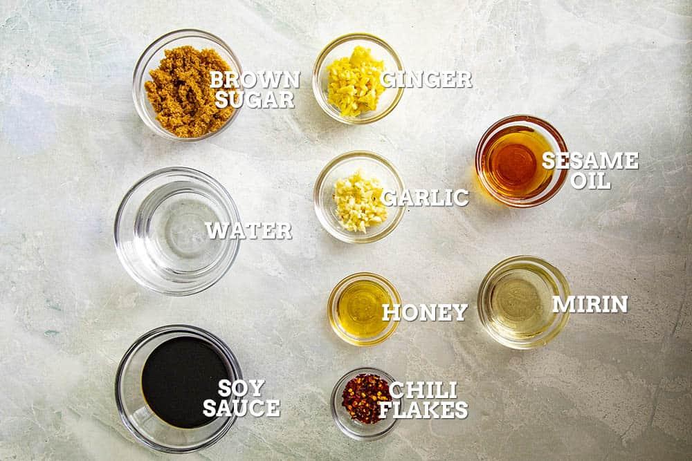 Teriyaki Sauce Ingredients