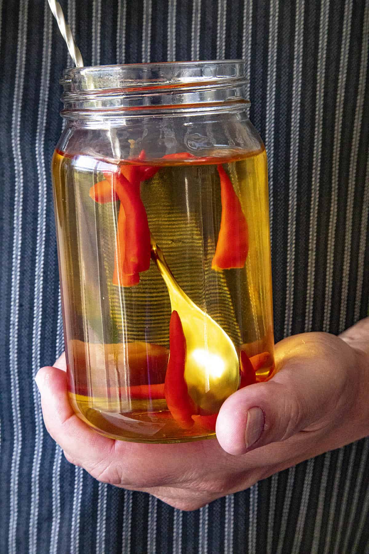 Chili Pepper Infused Tequila