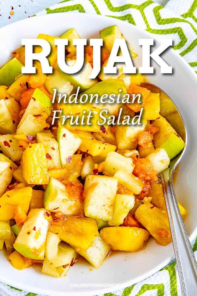 Rujak (Indonesian Fruit Salad)