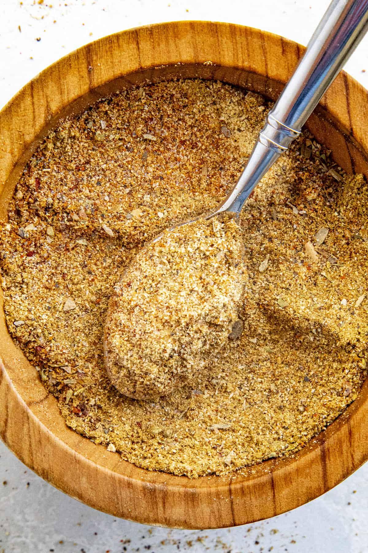 Sazon Seasoning on a spoon