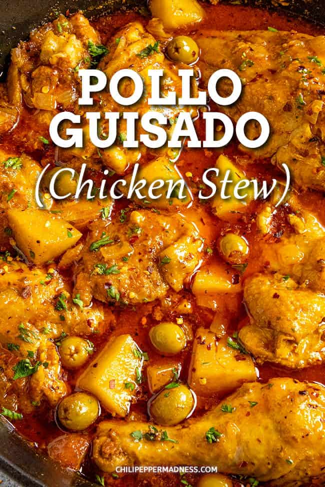 Pollo Guisado Recipe (Chicken Stew)