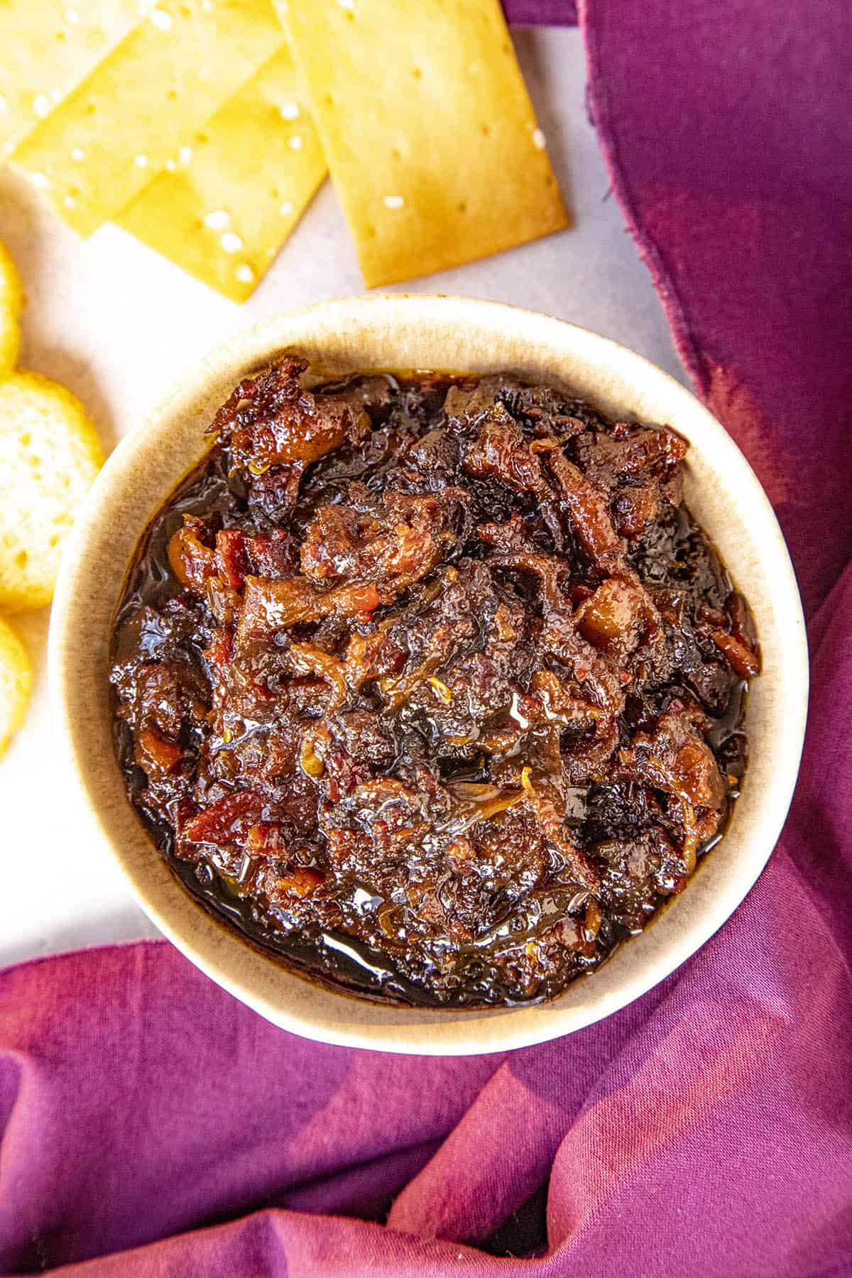 Bacon Jam in a bowl