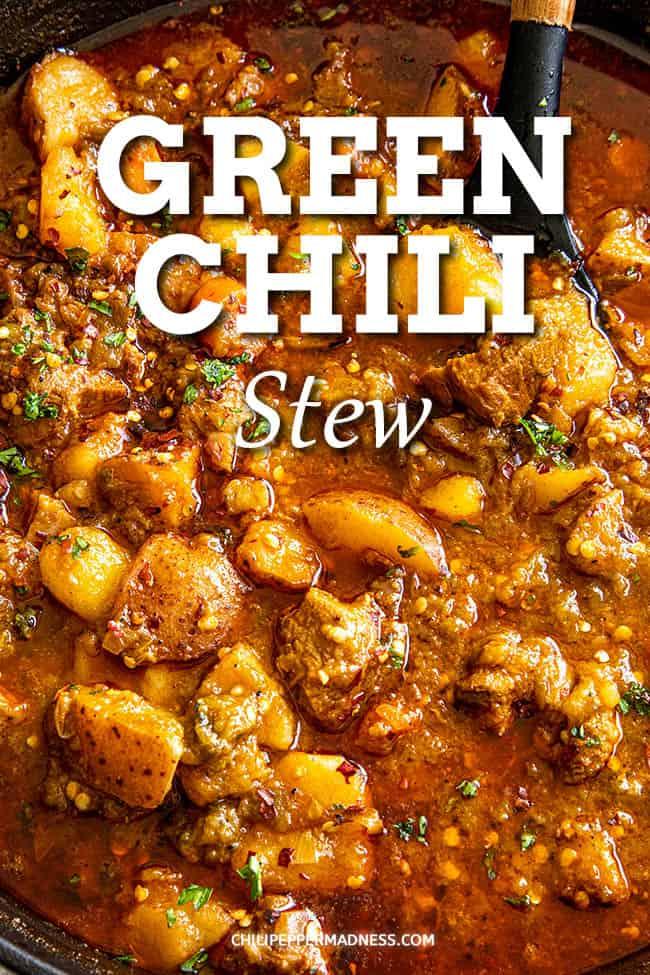Green Chili Stew with Pork