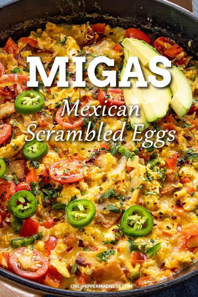 Migas (Scrambled Eggs with Crispy Tortillas)