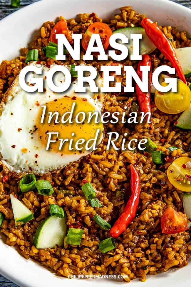 Nasi Goreng - Indonesian Fried Rice Recipe