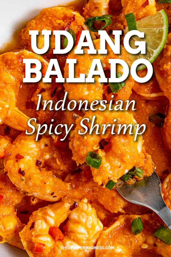 Udang Balado (Indonesian Spicy Shrimp)