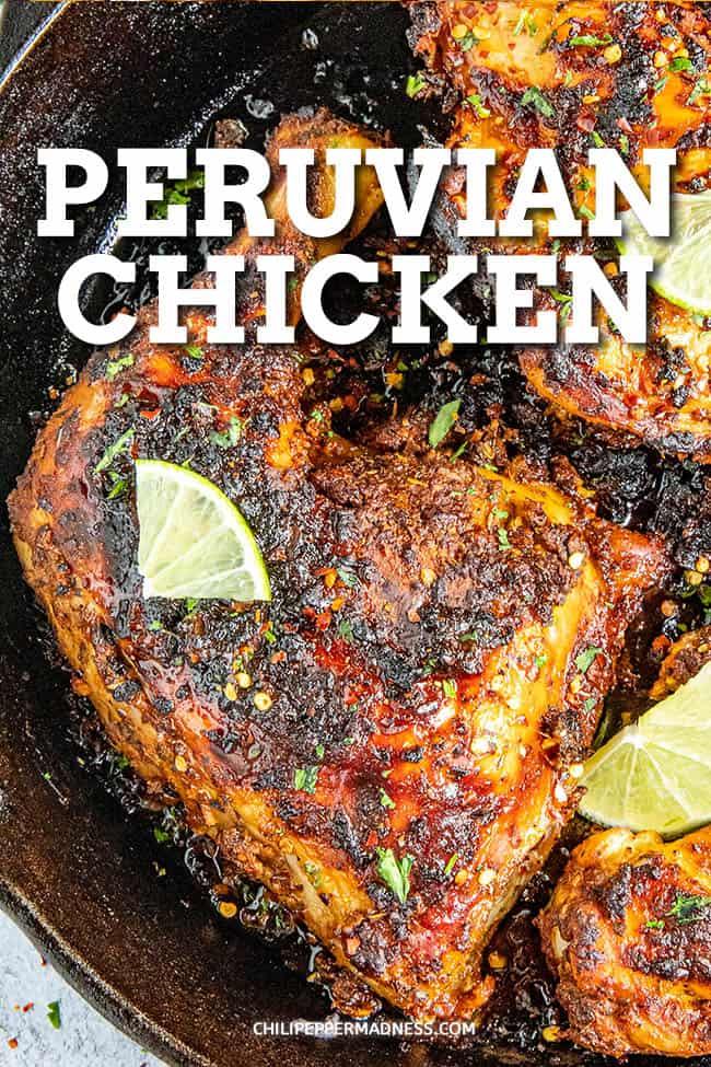 Peruvian Chicken (Pollo a la Brasa)