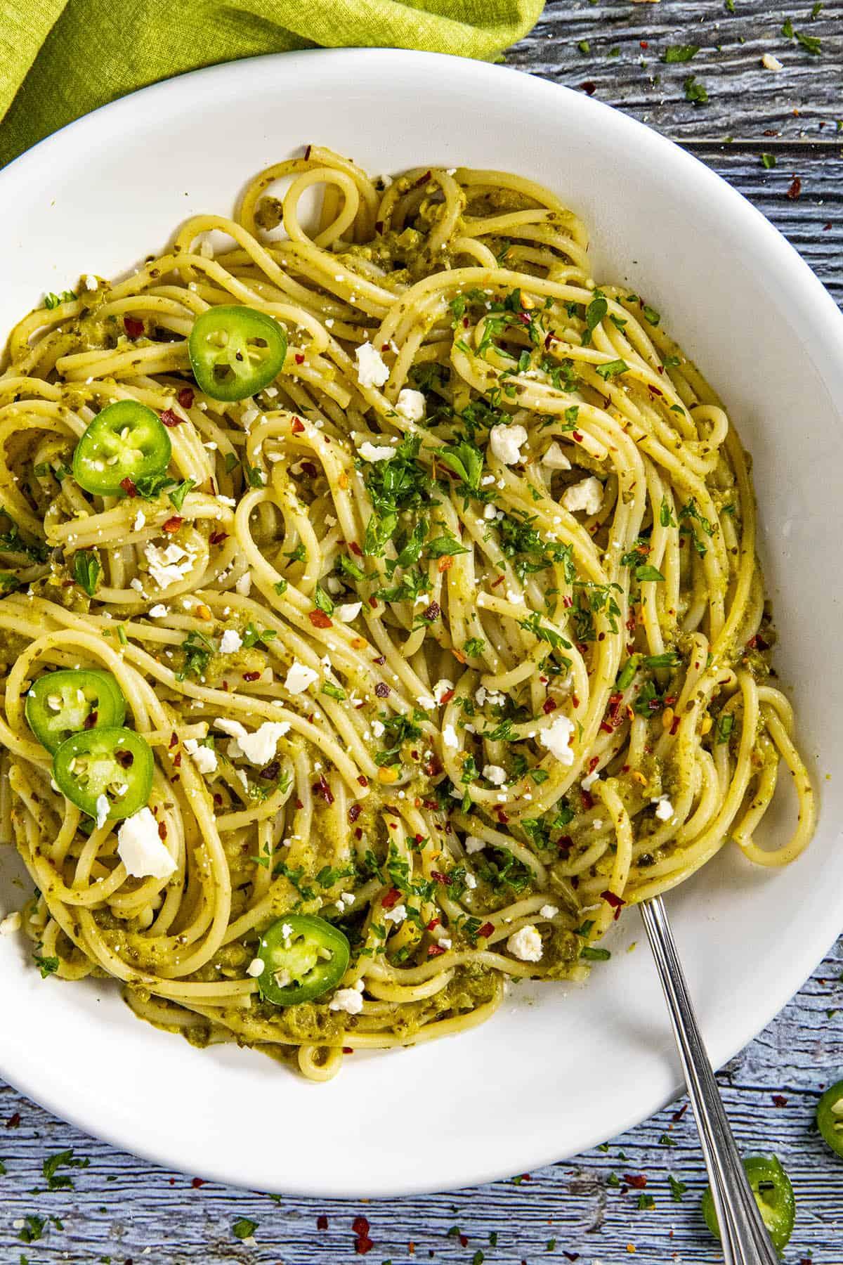 Spaghetti Verde, or