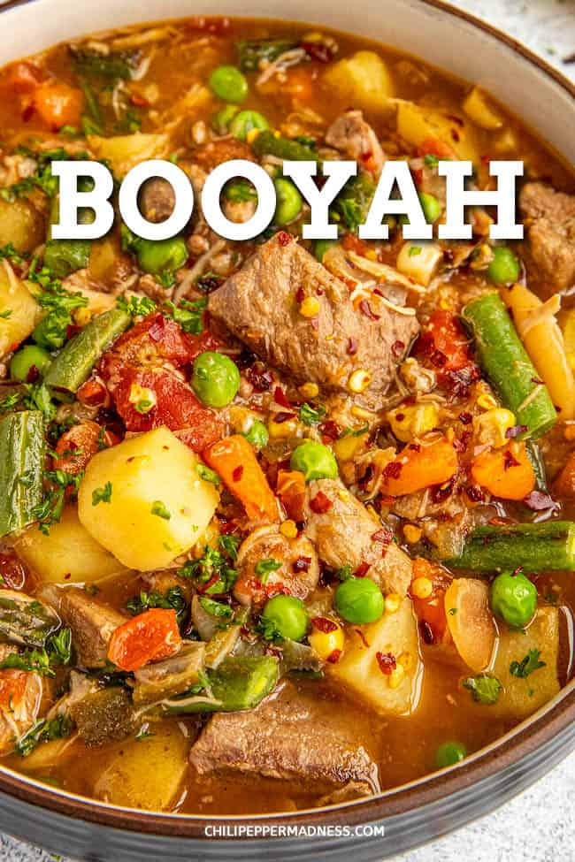 Booyah: Chunky Midwestern Stew