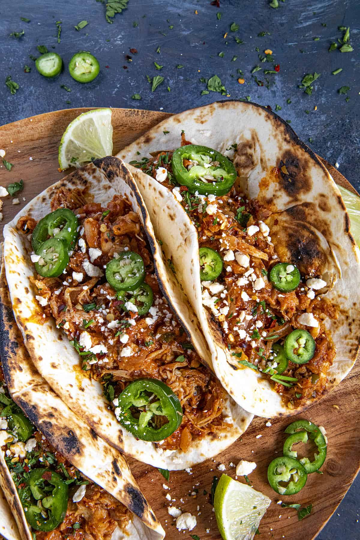2 Chicken Tinga Tacos