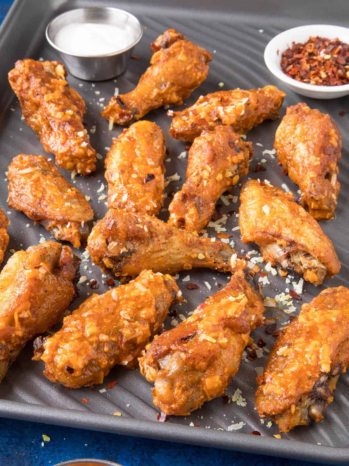 The Ultimate Garlic-Parmesan Wings! The Story!