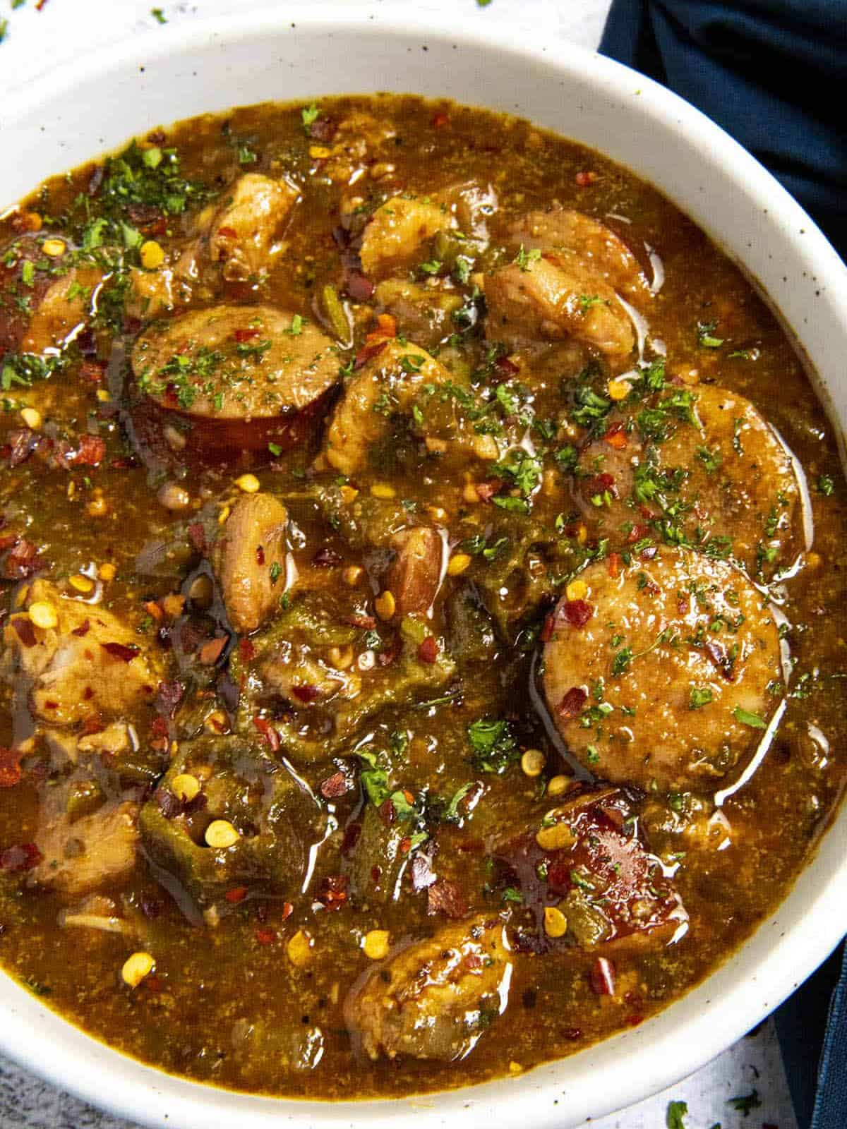 My Favorite Gumbo Recipe – Story