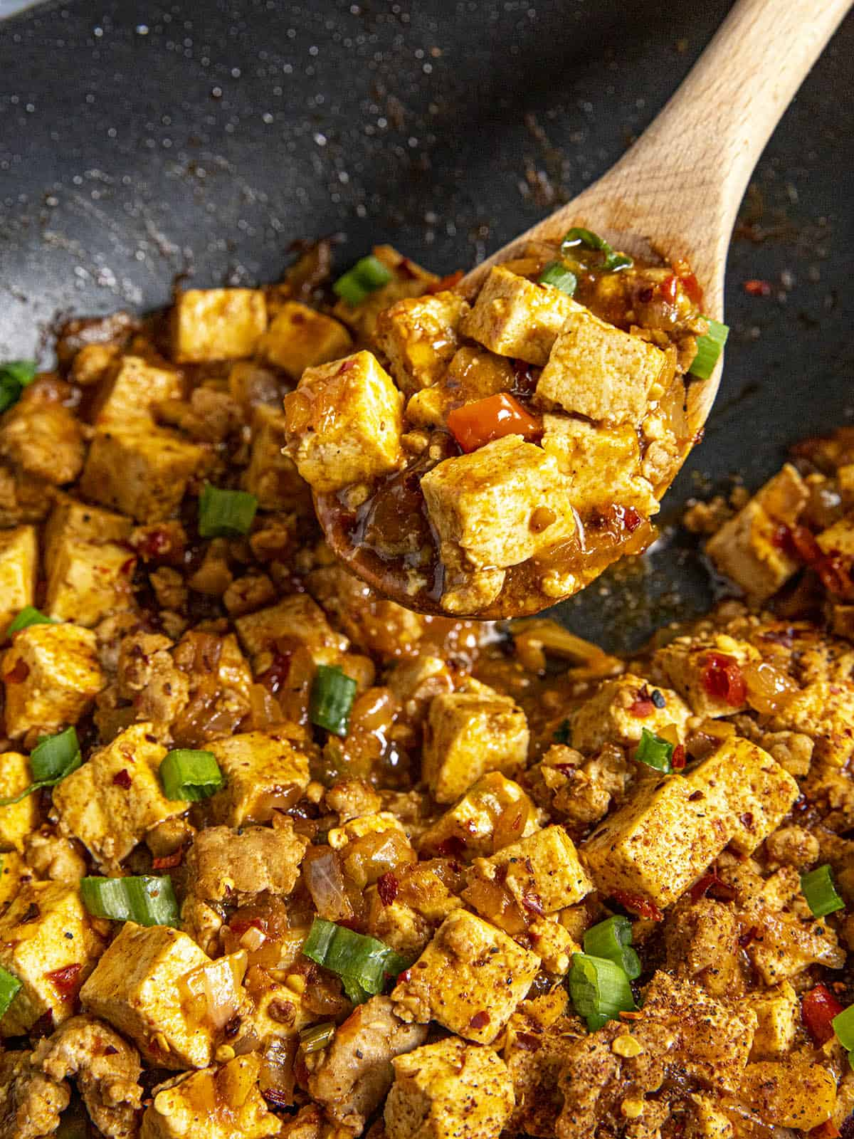 Spicy Mapo Tofu with Pork Recipe – Story