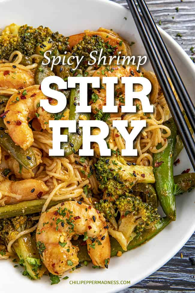 Spicy Shrimp Stir Fry Recipe