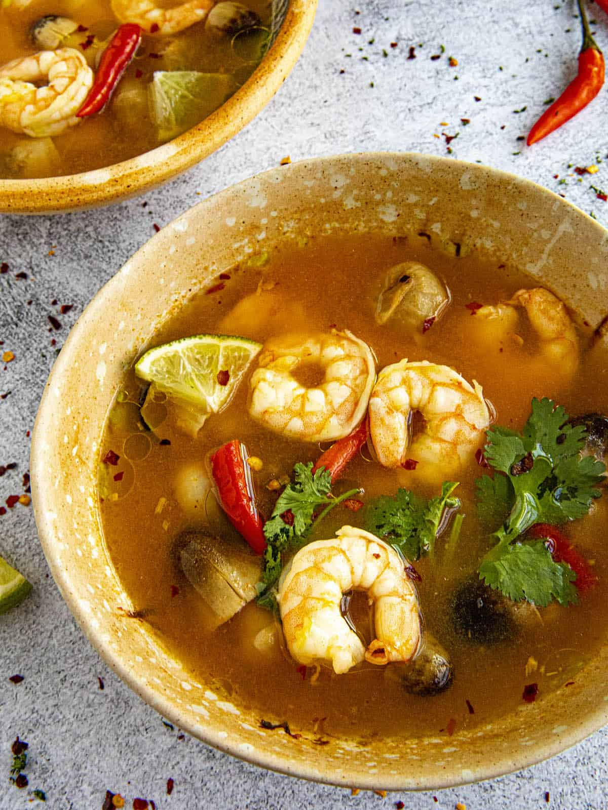 What is Tom Yum Soup? Plus a Recipe