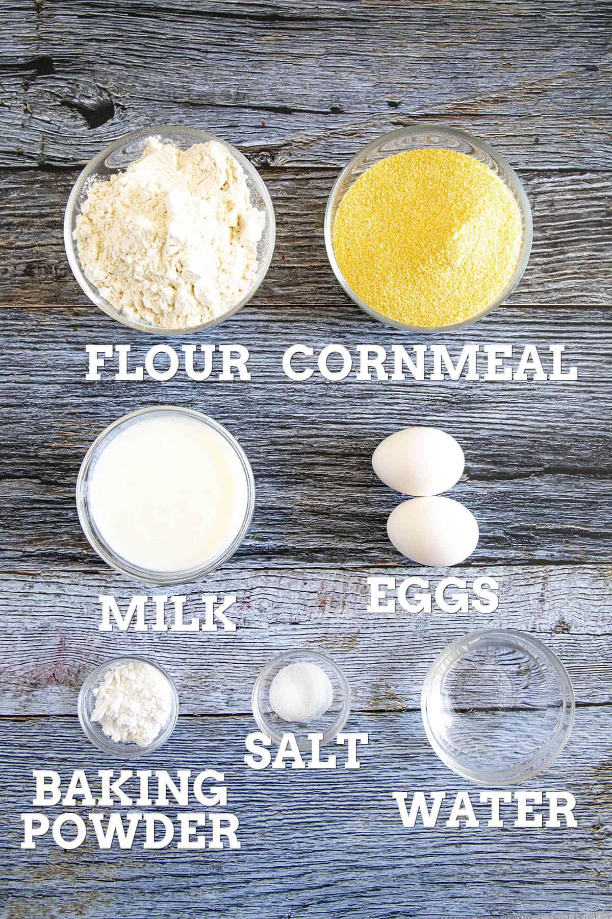 Johnny Cakes Ingredients