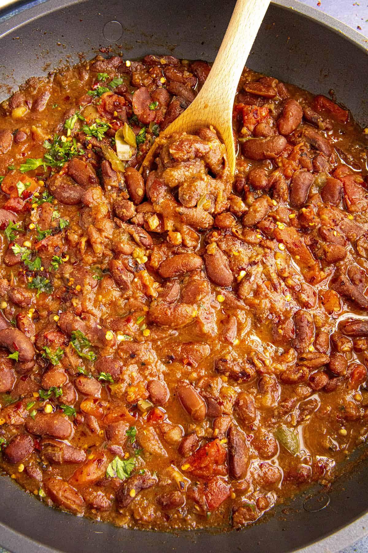 Charro Beans Recipe (Frijoles Charros)