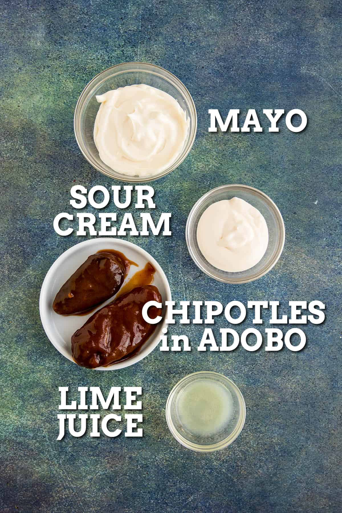 Chipotle Mayo ingredients