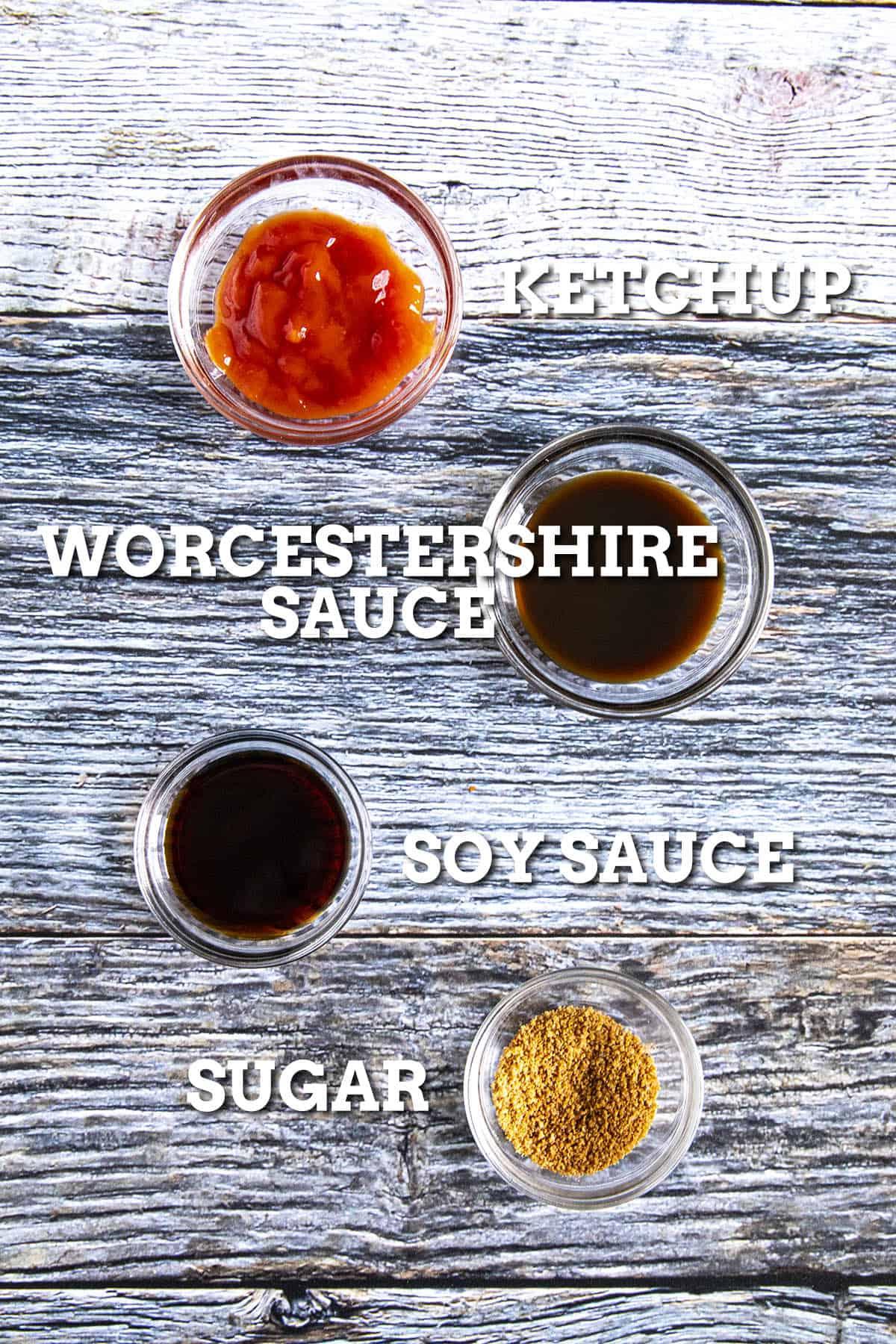 Tonkatsu Sauce Ingredients