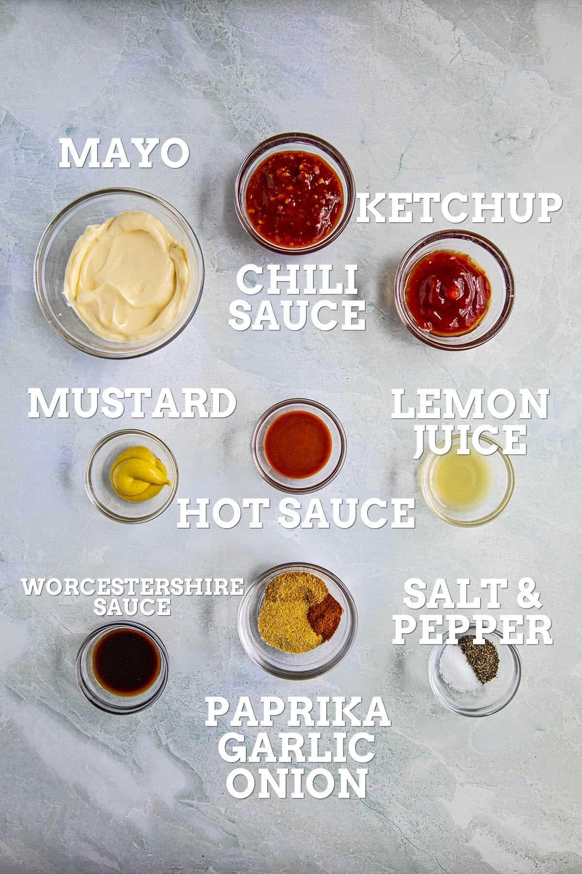 Comeback Sauce Ingredients