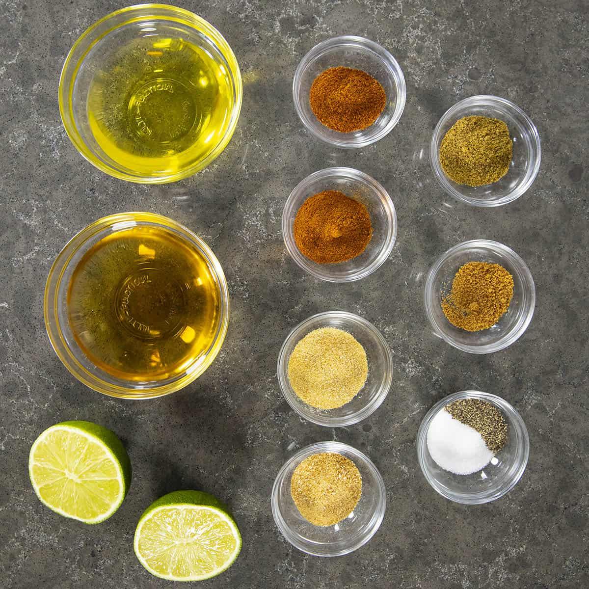 Cowboy Caviar Vinaigrette Ingredients