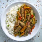 Lomo Saltado Recipe (Peruvian Beef Stir Fry with French Fries)